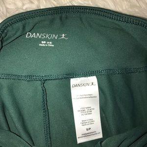Danskin Pants - dark green leggings